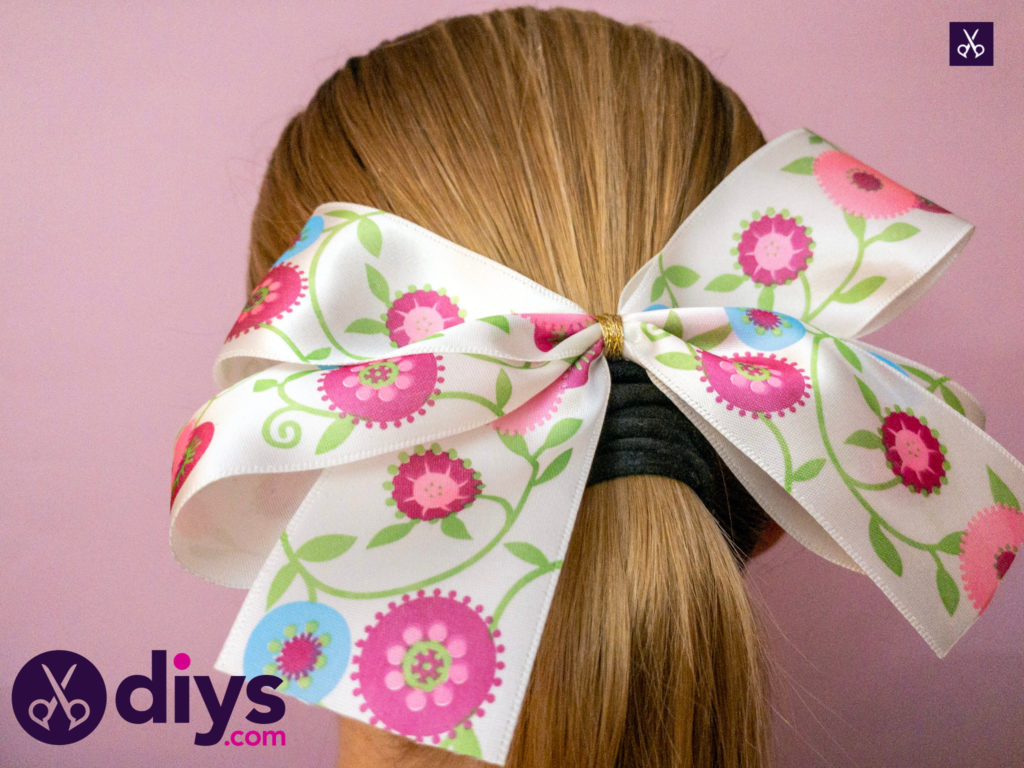 Fashion how to make a ribbon double bow
