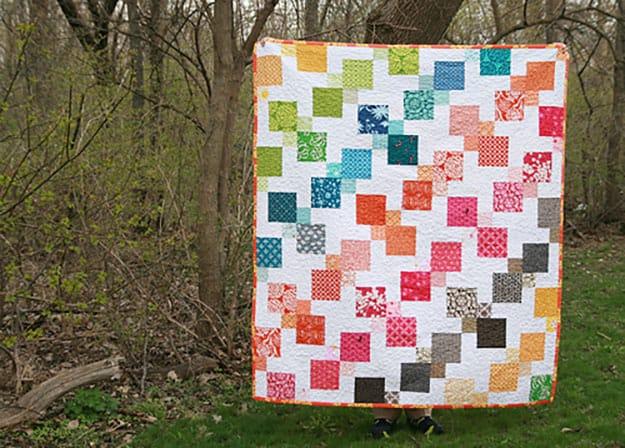 Free pattern kaleidescope quilt