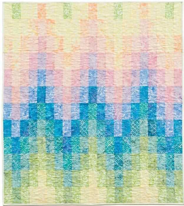 Free quilt pattern baby bargello