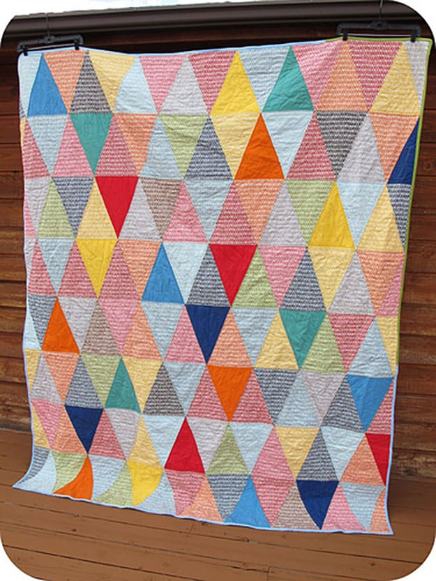 Free quilt pattern diy picnic blanket