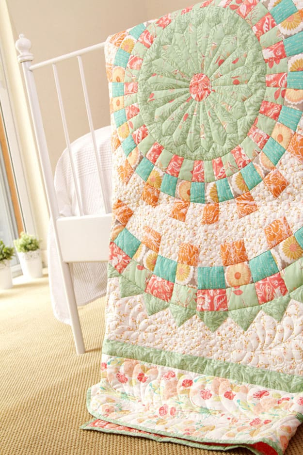 Free quilt pattern traditional dresden
