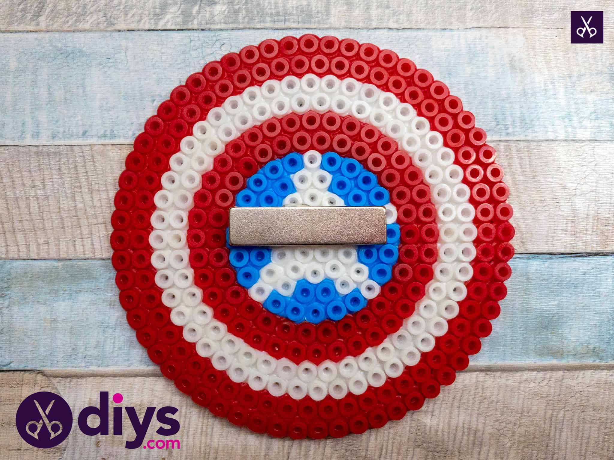 How to make a cool captain america freezer magnet diy