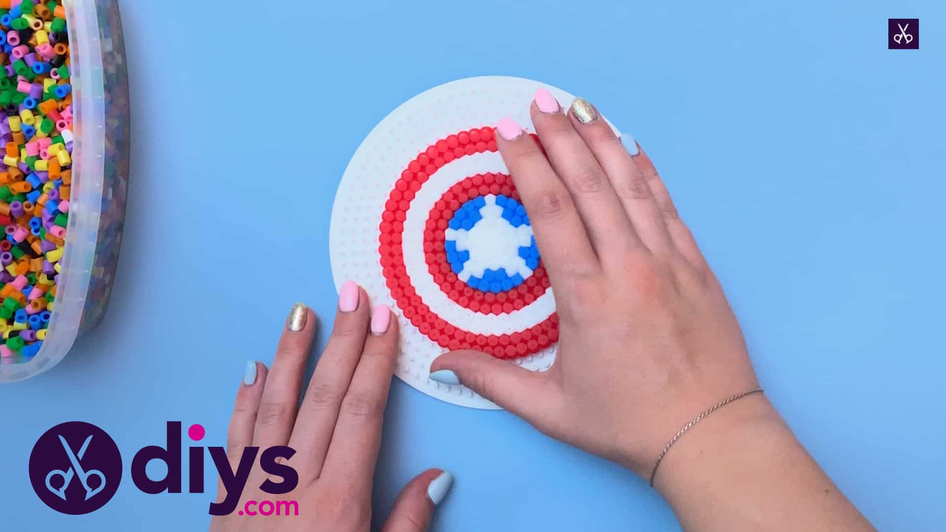 How to make a cool captain america freezer magnet top