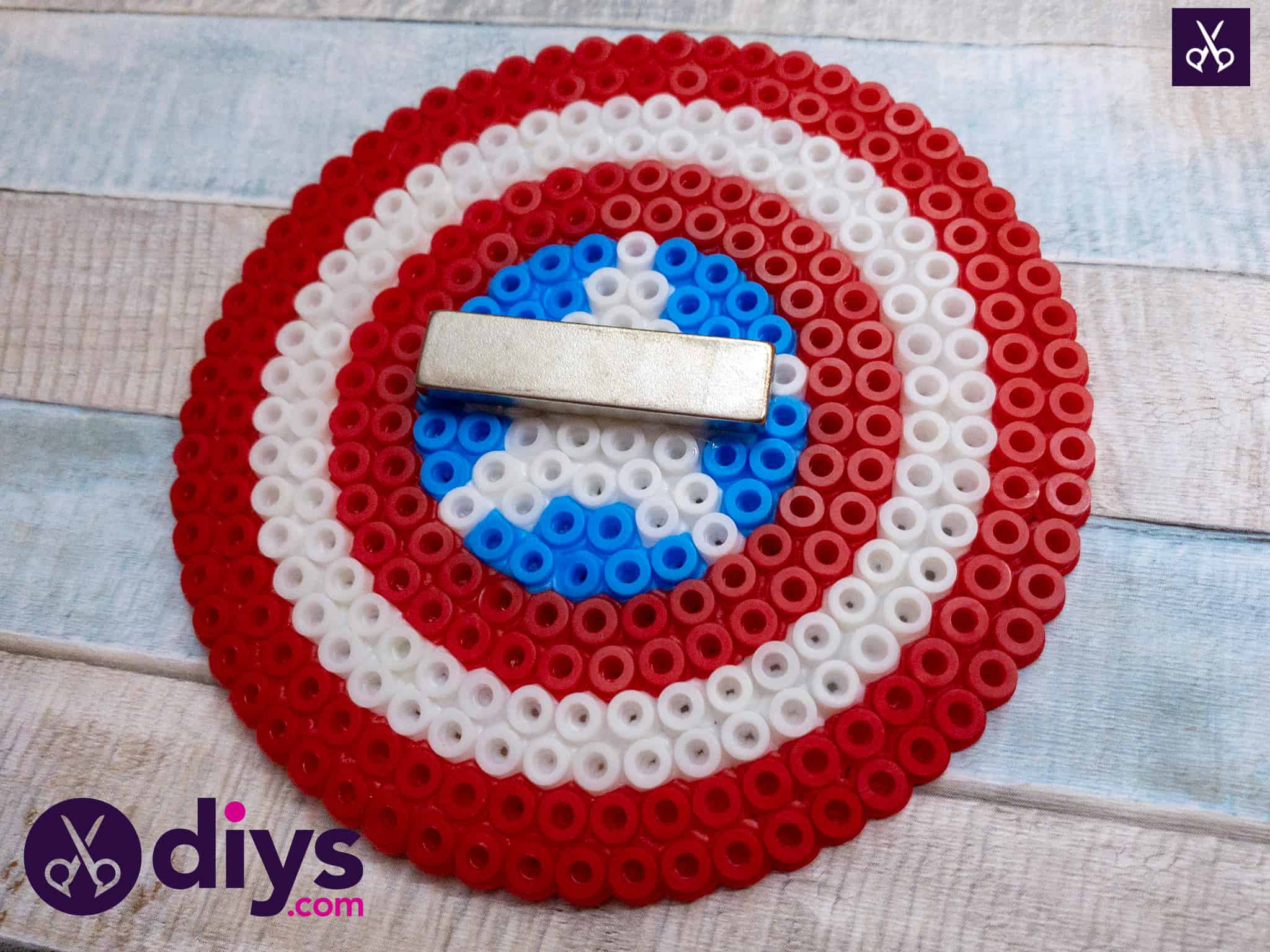 How to make a cool captain america freezer magnet back