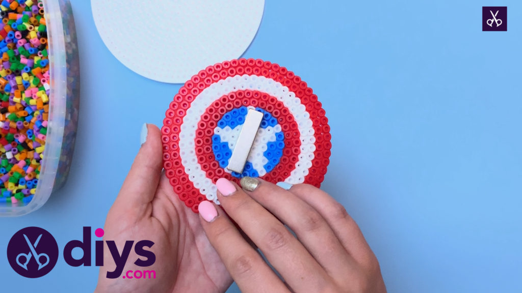 How to make a cool captain america freezer magnet craft