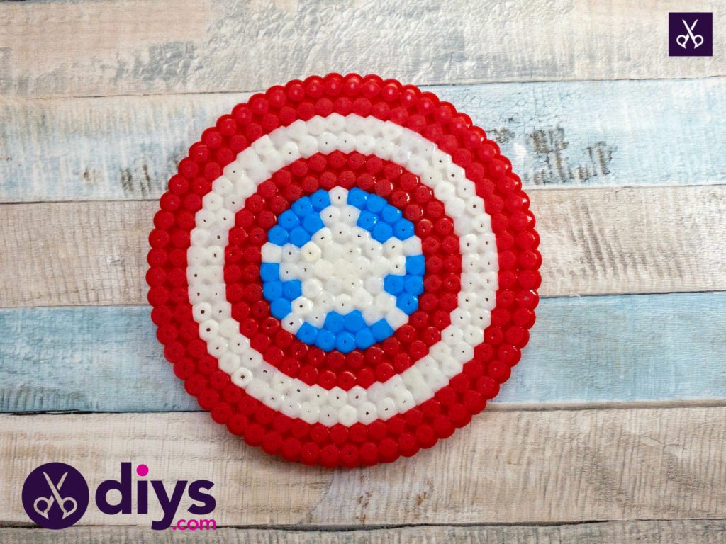 How to make a cool captain america freezer magnet for kids
