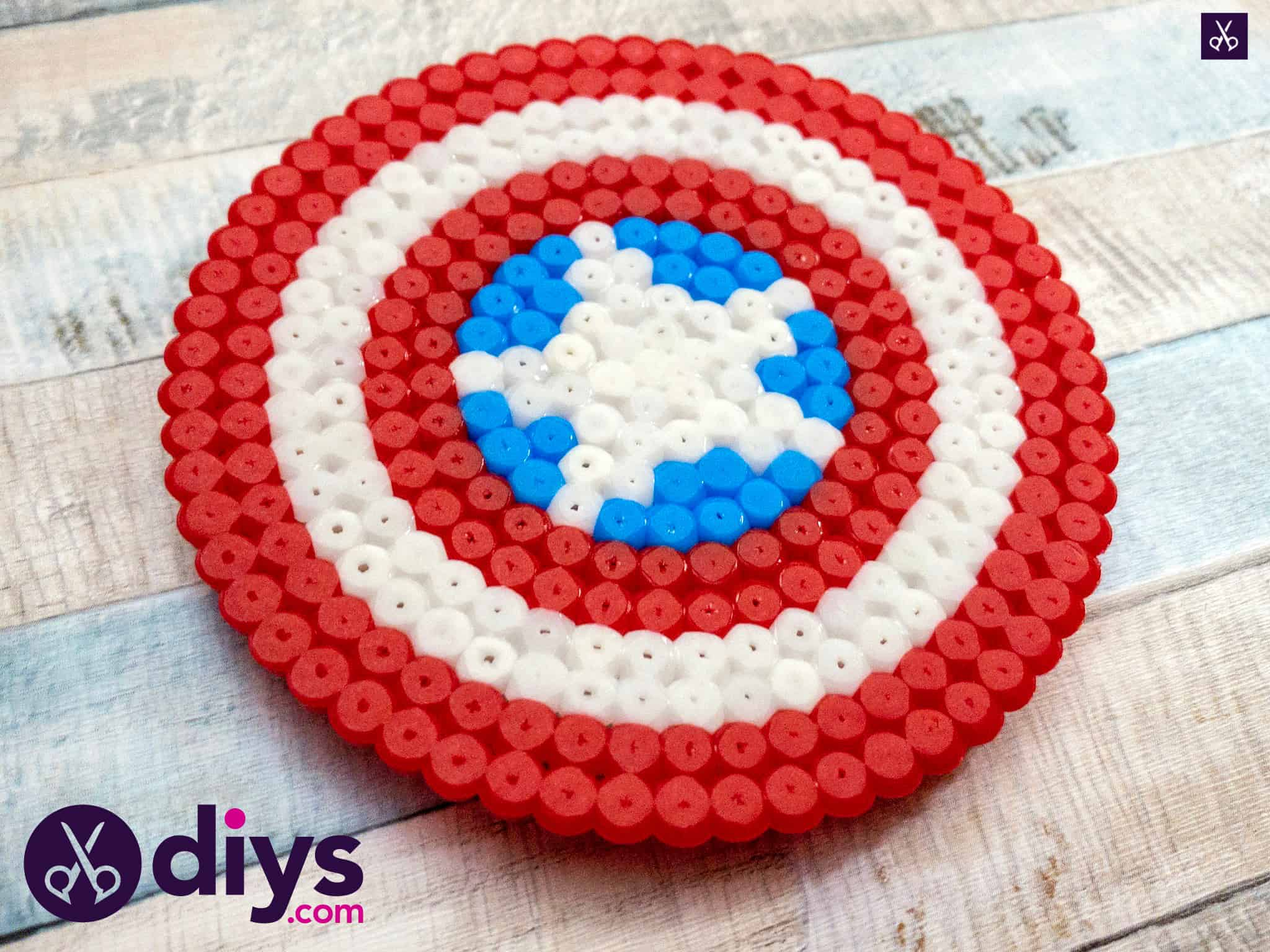 How to make a cool captain america freezer magnet