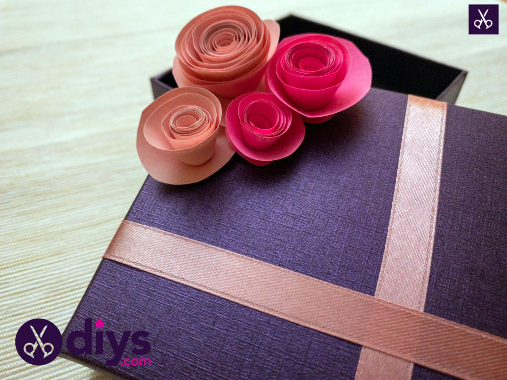 How to make a decorated gift box
