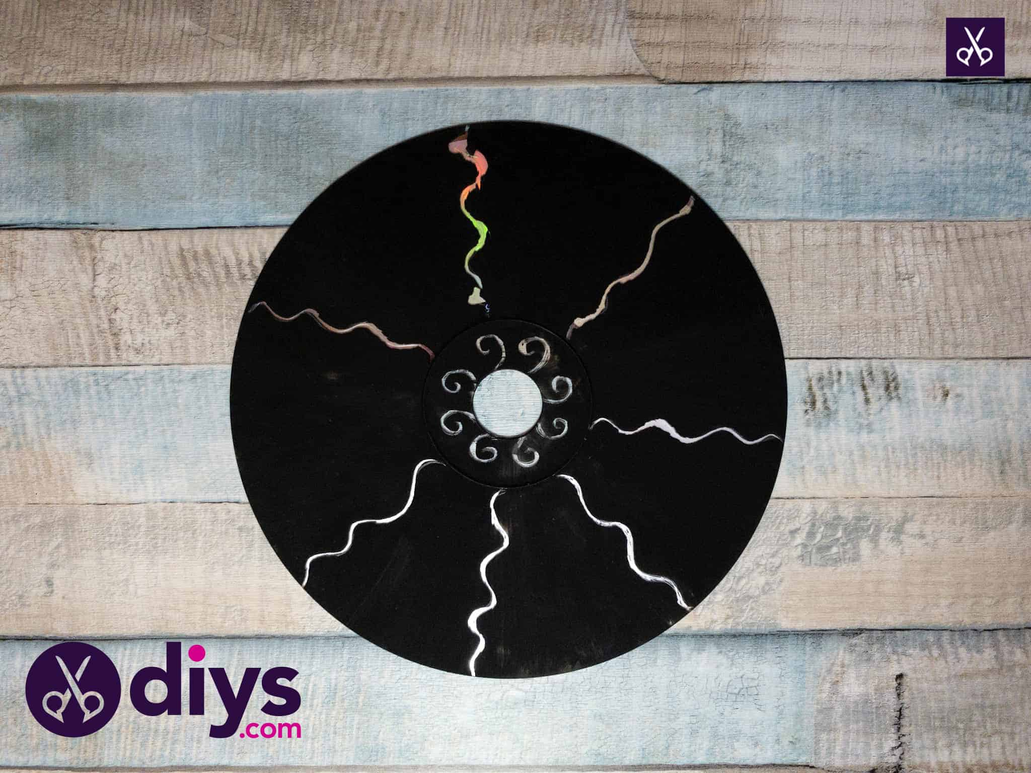 How to make recycled cd art