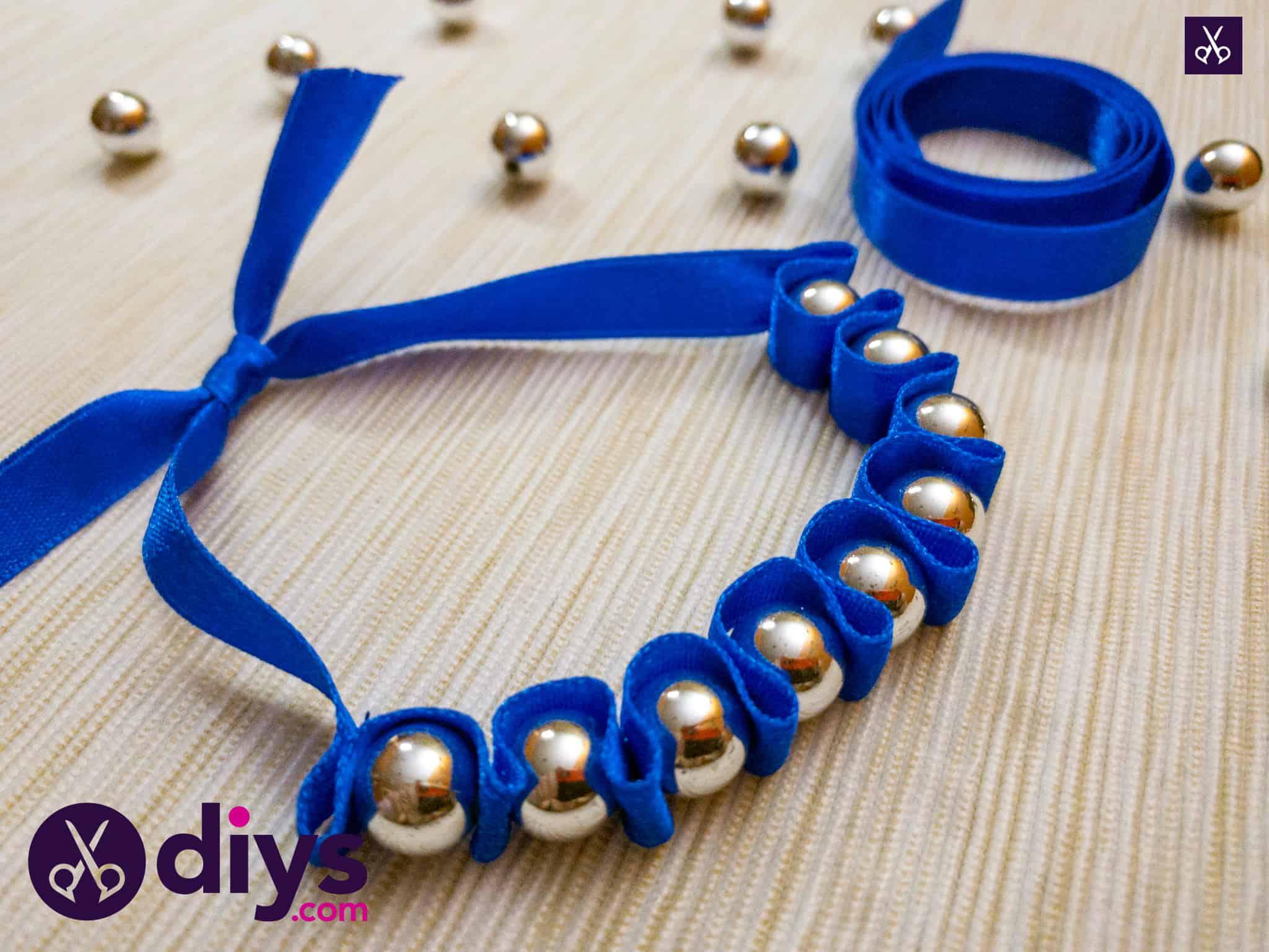 How to make a pearl bracelet diy
