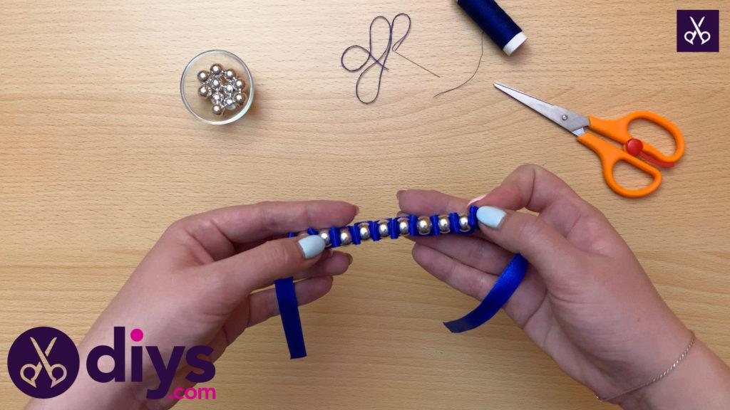 How to make a pearl bracelet modern design