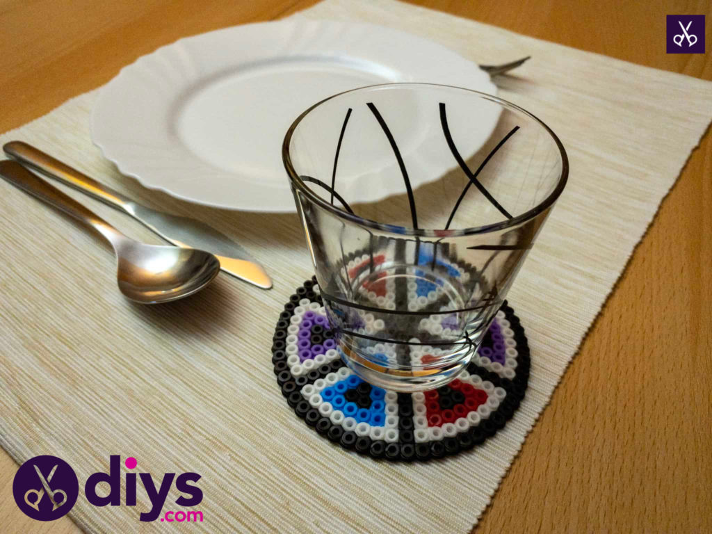 How to make a perler bead cup holder create