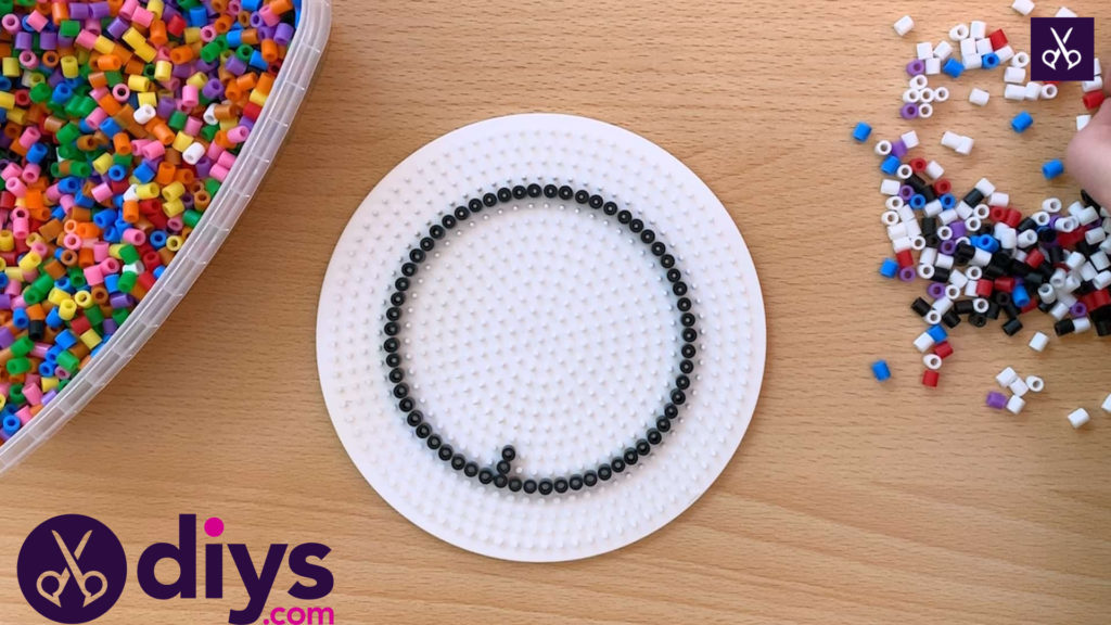 How to make a perler bead cup holder kids craft