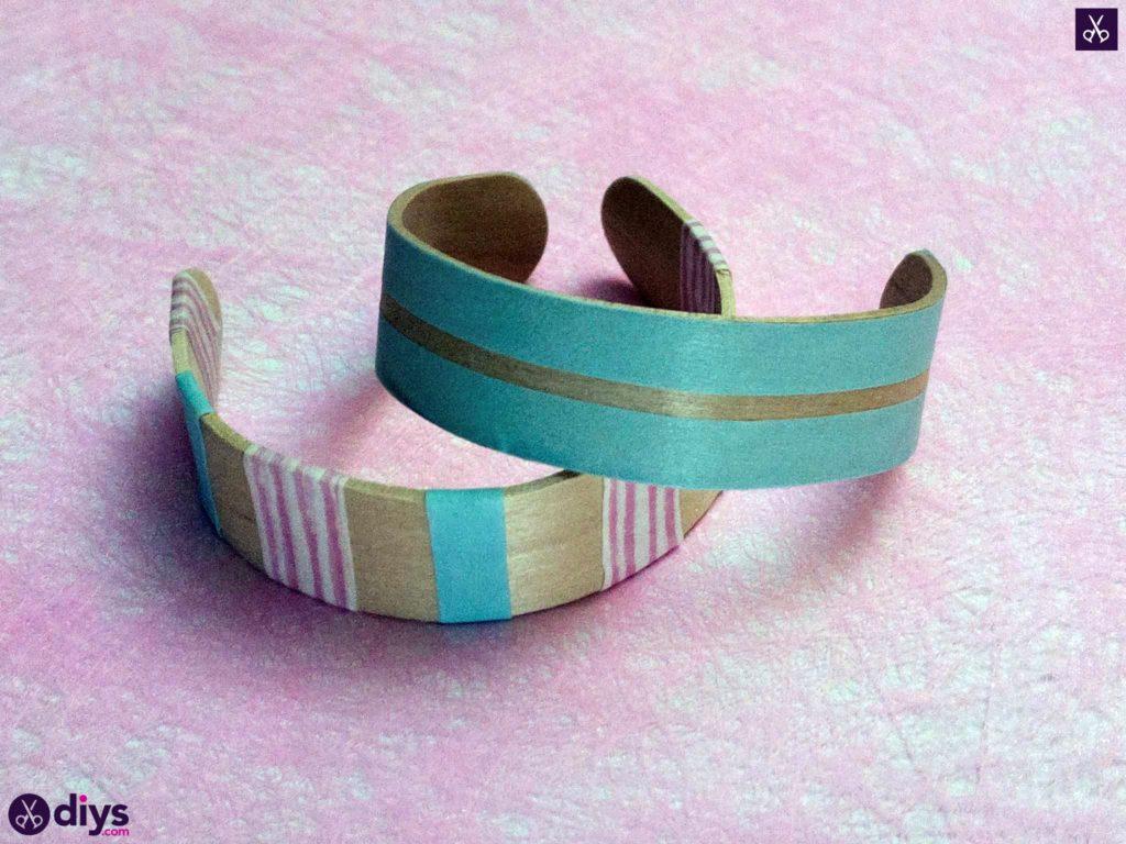 How to make a popsicle stick bracelet