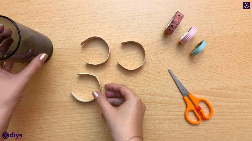 How to make a popsicle stick bracelet step 3