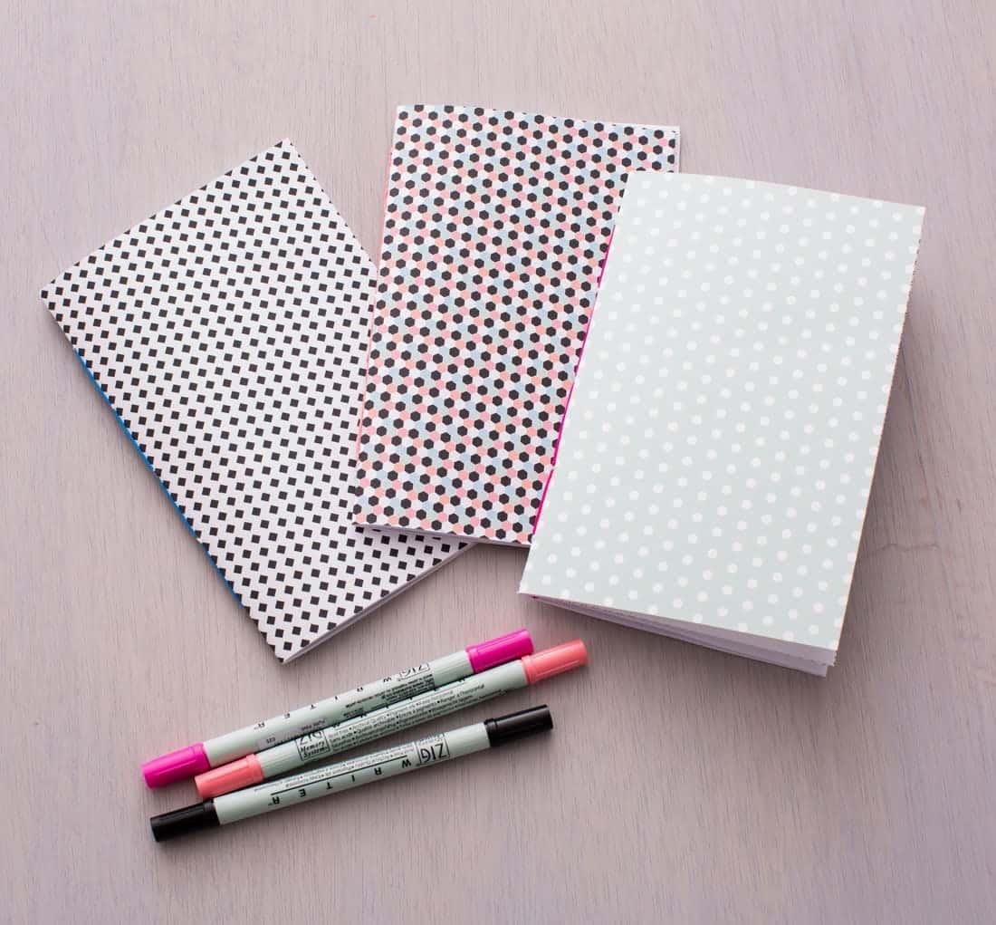 Little scribbler notebooks from scratch