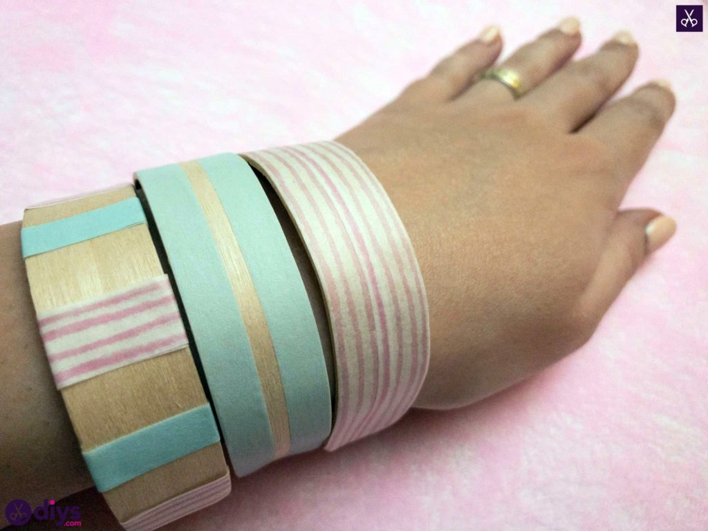 Natural how to make a popsicle stick bracelet