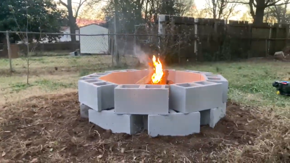 Simplest fire pit