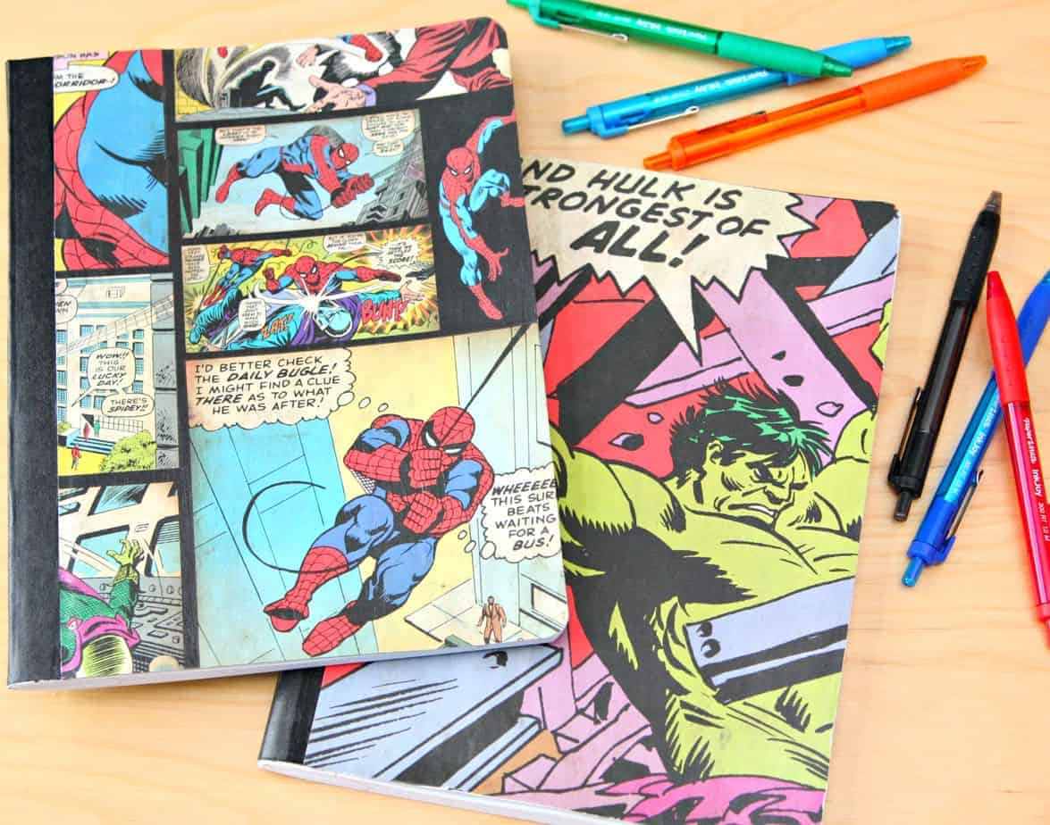 Superhero notebooks