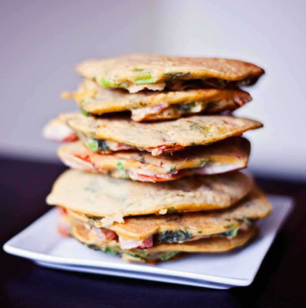 Chickpea beggie pancakes