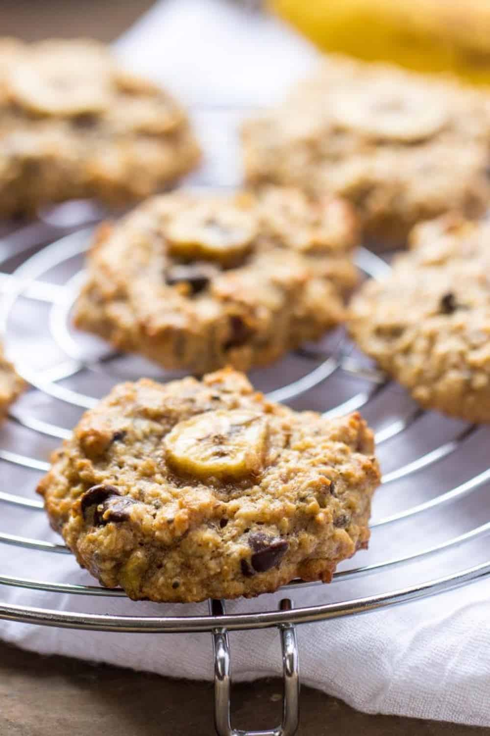 Chunky monkey quinoa breakfast cookies 3 645x968