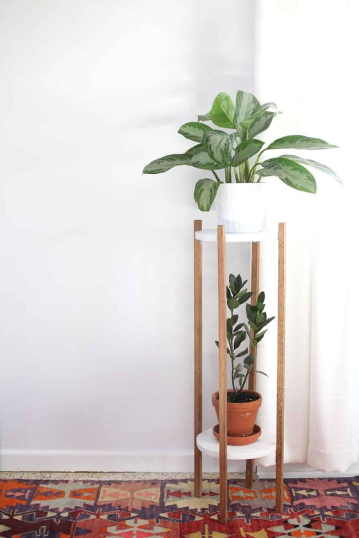 Diy mid century modern planter
