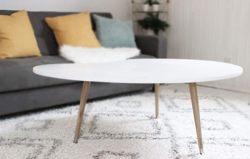Diy midcentury table
