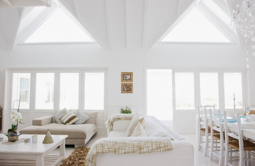 Natural lighting in the living room feng shui