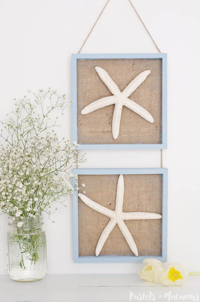 Starfish wall art diy
