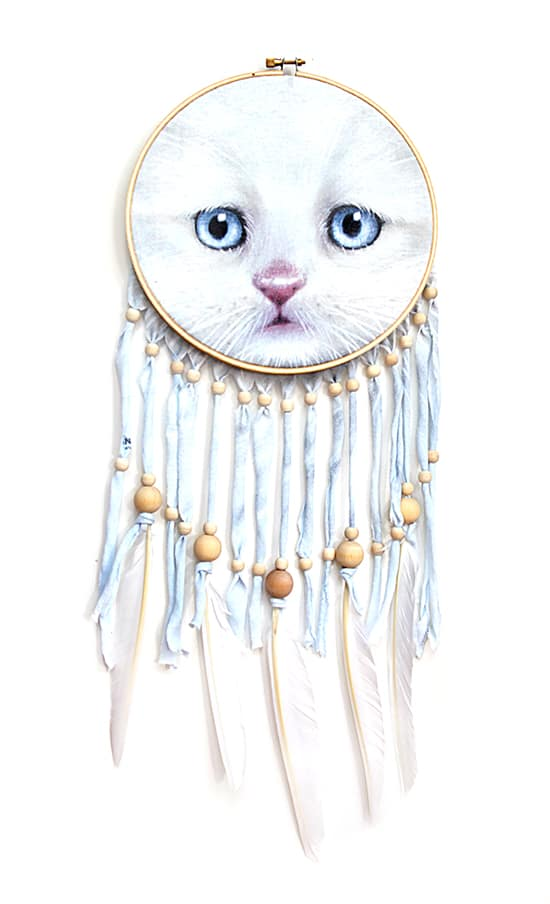 Tshirt dreamcatcher diy