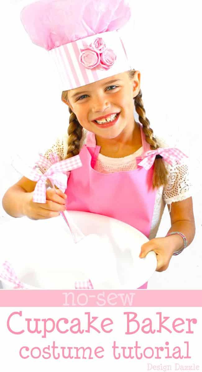 Cupcake baker costume
