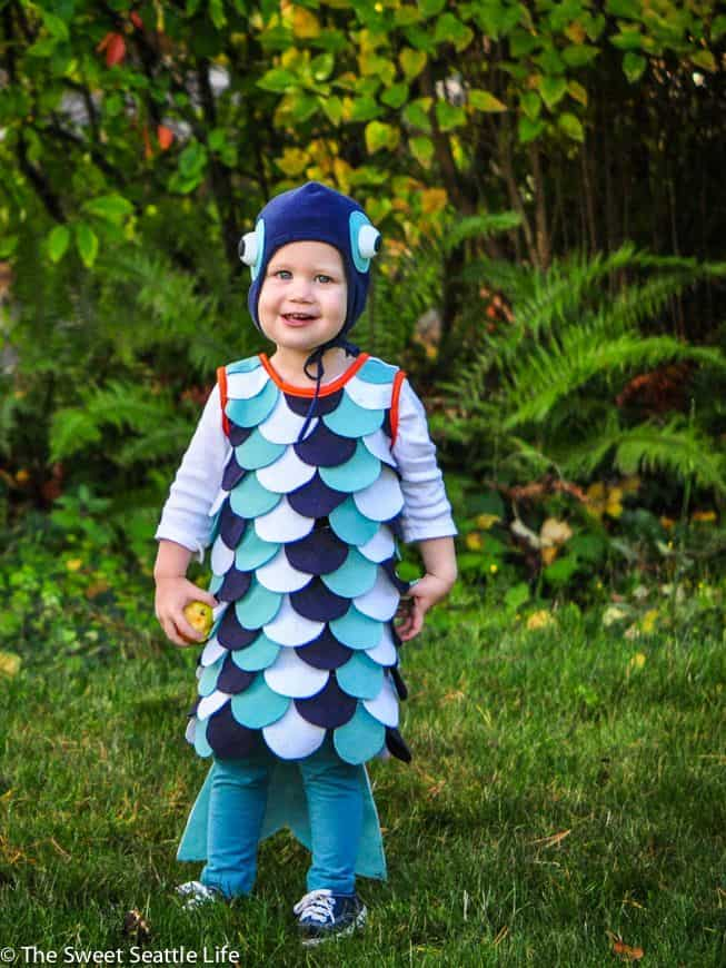 Diy tropical fish costume