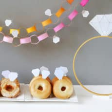 Diamond bagels and donuts