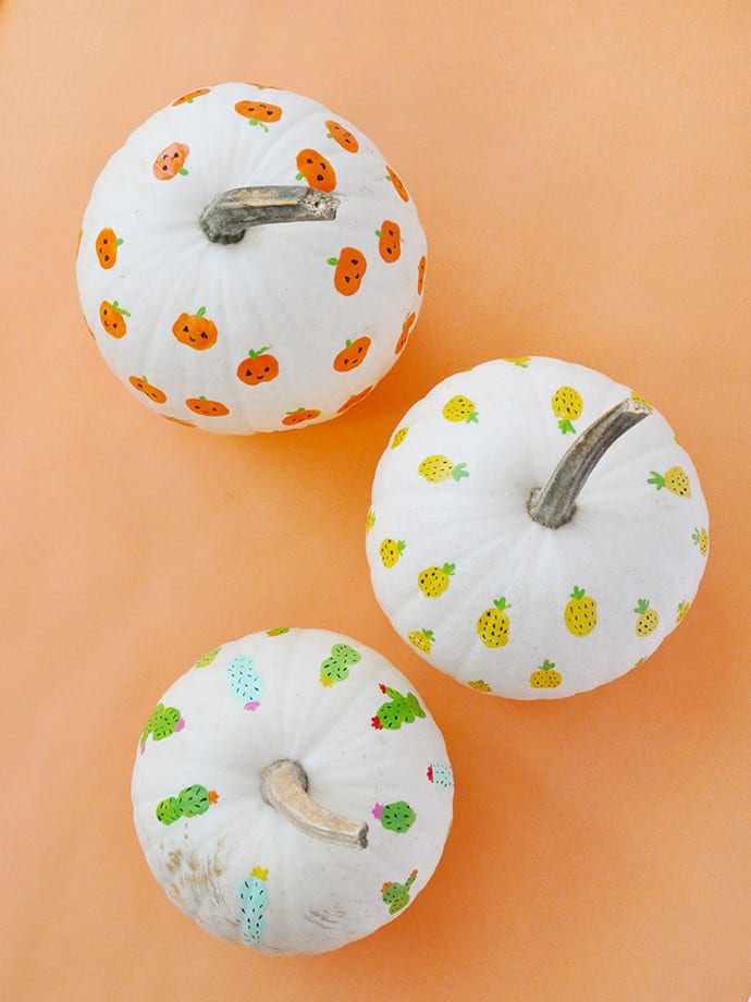 Finger Paint Easy Halloween Pumpkin Painting Idea