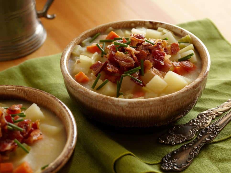 German potato beer soup