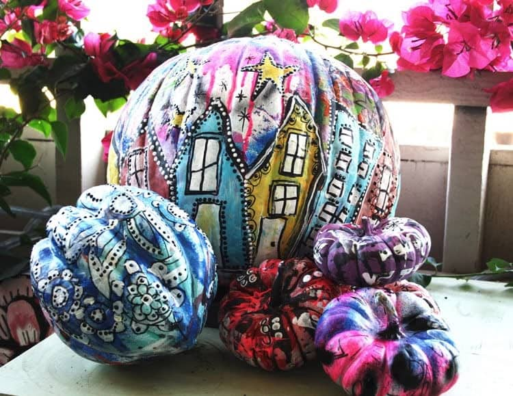 Cool Pumpkin Painting Ideas - Go Messy