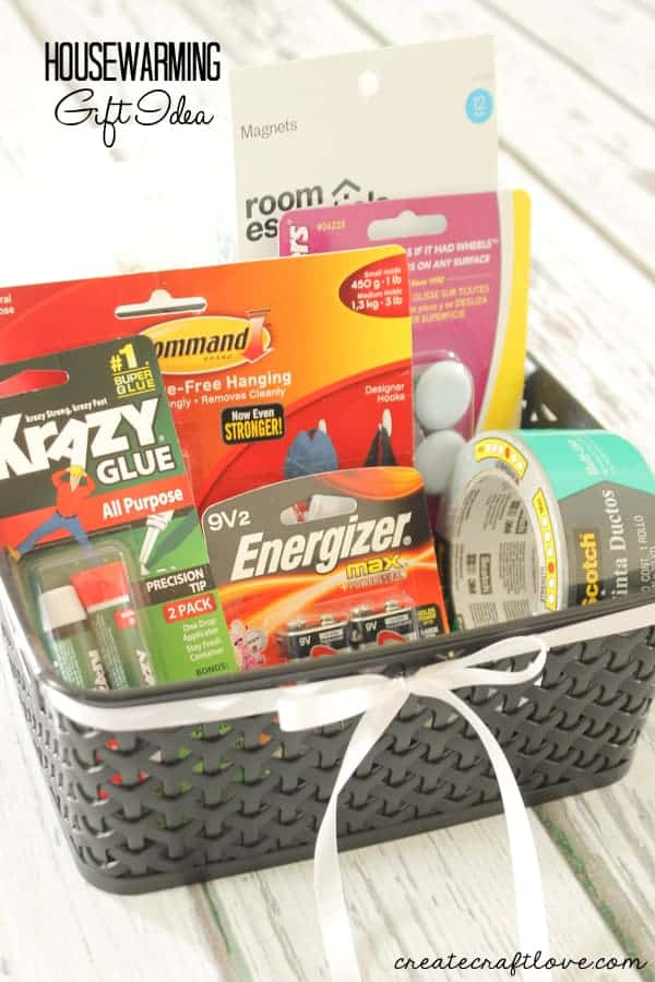 Handy things housewarming basket