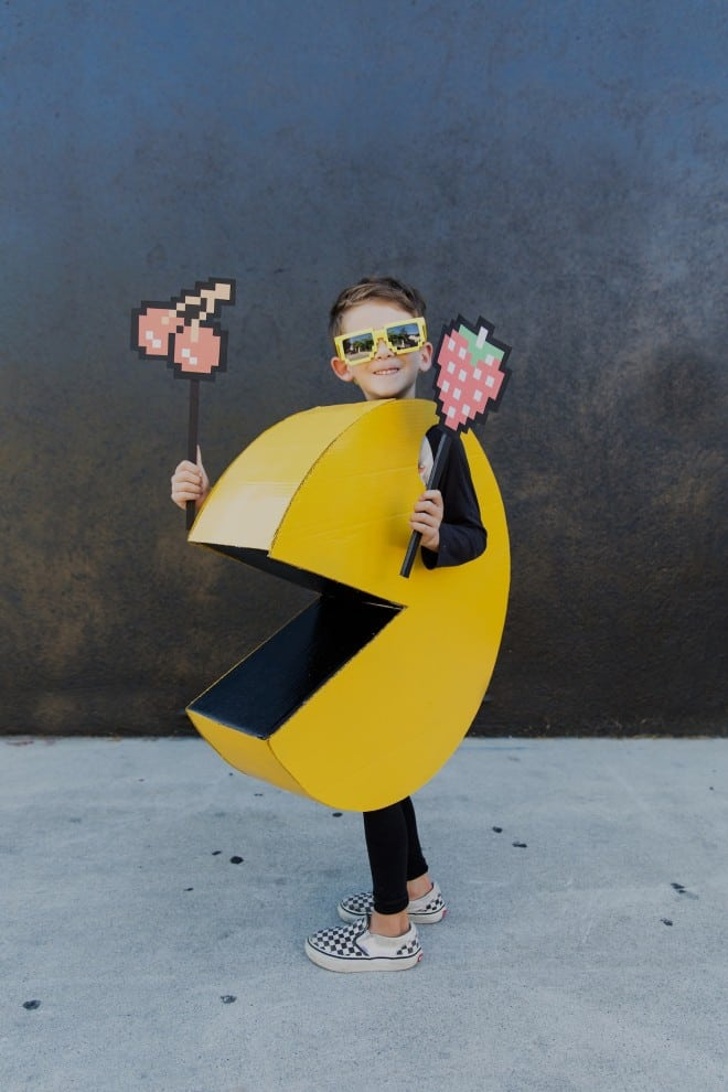 Kids pac man costume