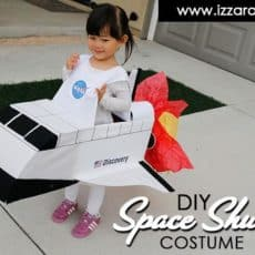 Kids' space shuttle costume