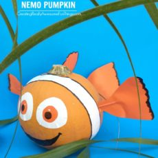 No carve finding nemo pumpkin