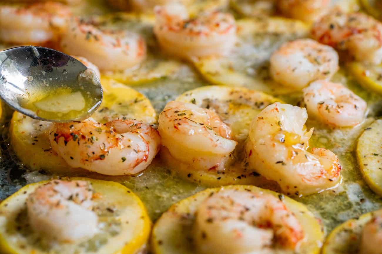 Sheep pan lemon butter shrimp horizontal 9