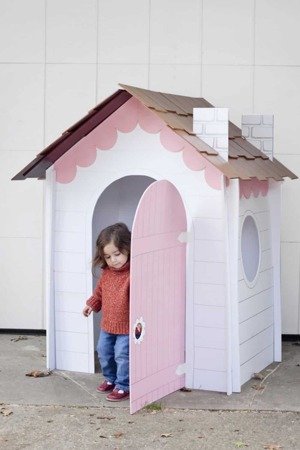 Collaspible playhouse diy