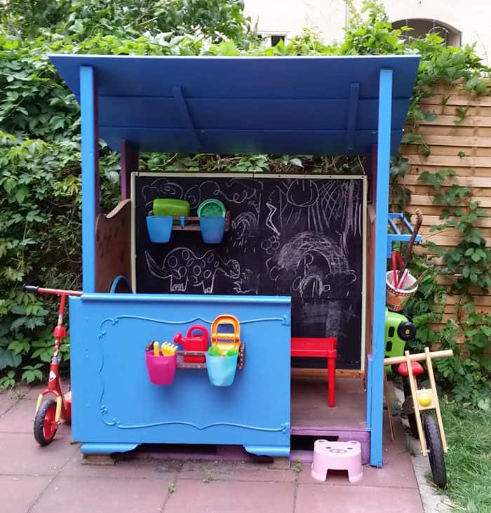 Diy upcycled playhouse