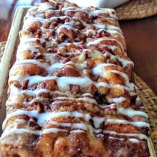 Awesome country apple fritter bread