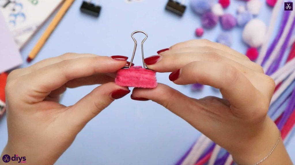 Diy binder clip card holder design