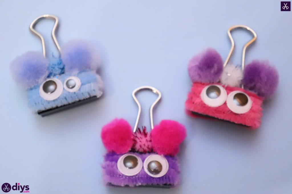 Diy binder clip card holder fun craft