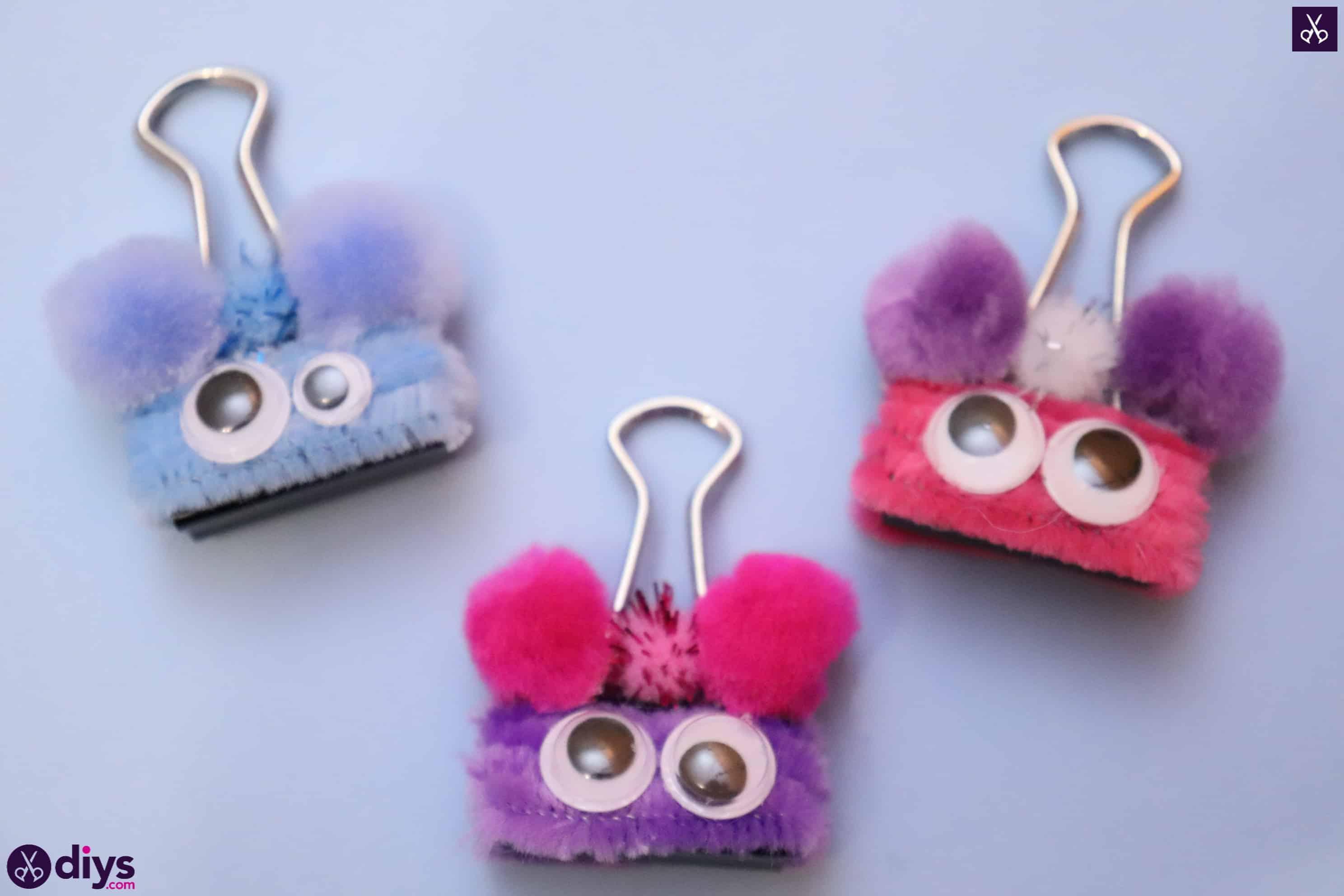 Diy binder clip card holder fun craft