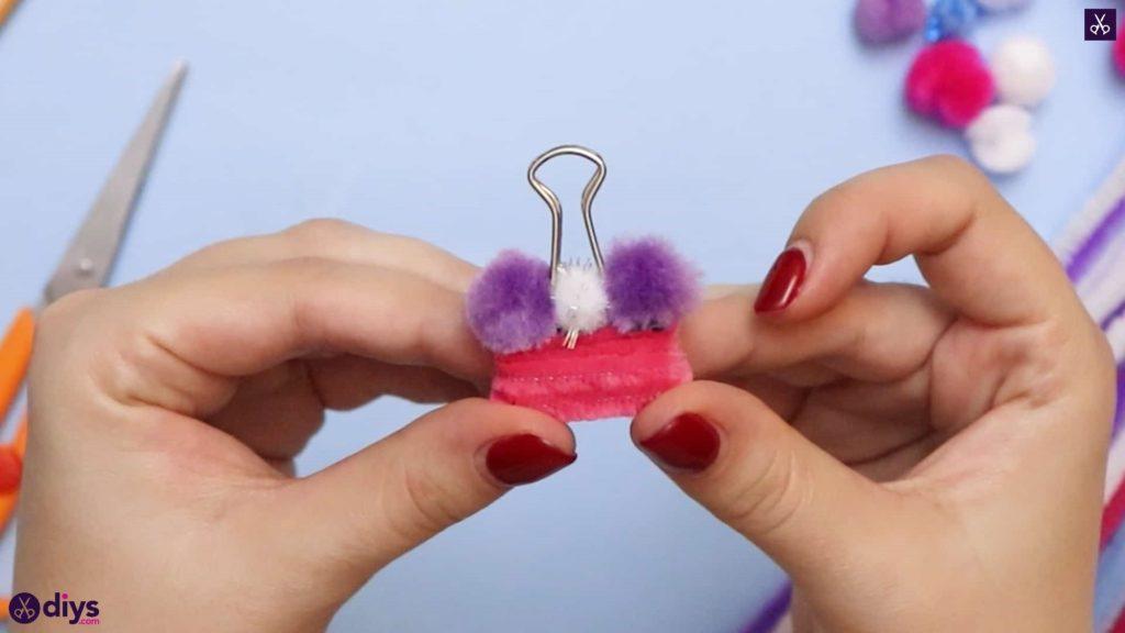 Diy binder clip card holder how to
