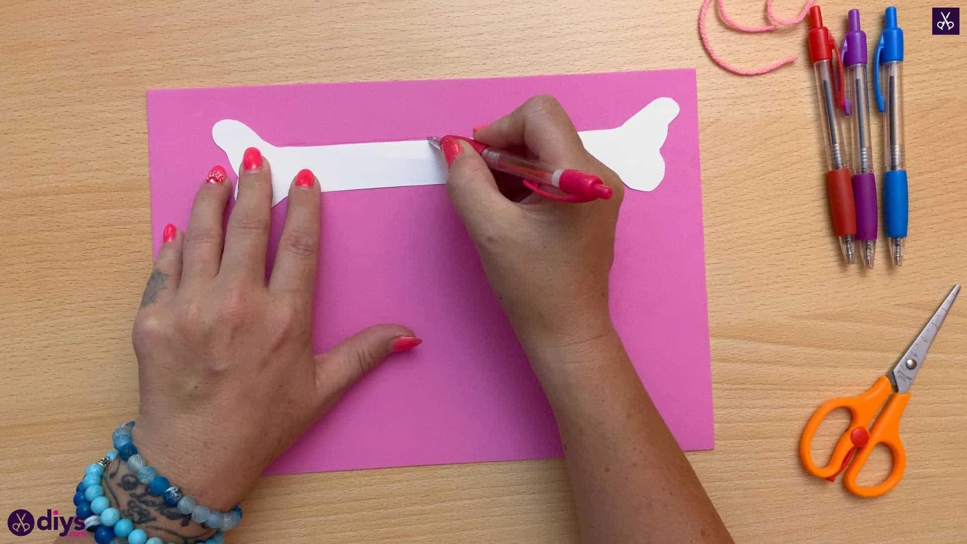 Diy butterfly bracelet for kids cutting