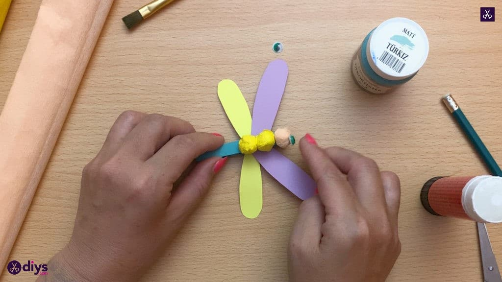 Diy clothespin dragonfly for kids ready
